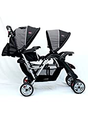 Mamakiddies Tandem Stroller Pram Twin New Born Toddler Baby Jogger