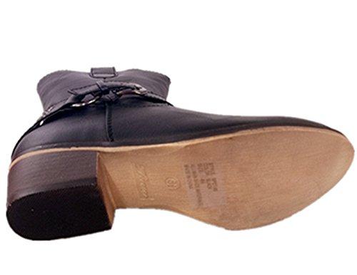 Scarpe Da Donna Tacco Medio Scarpe Da Donna Per Sempre Tacco Medio Nero