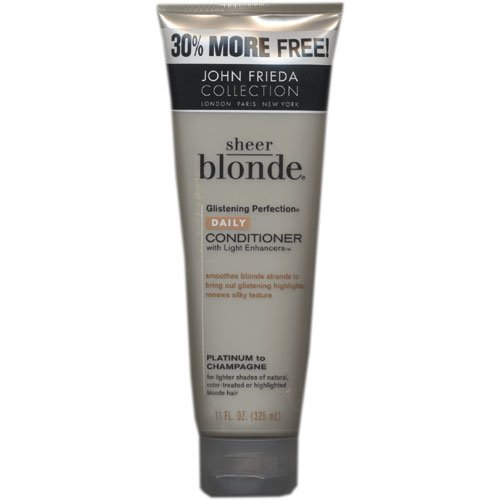 John Frieda Collection, Sheer Blonde, Daily Conditioner, Platinum to Champagne, 11 fl oz