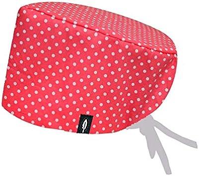 Robin Hat - Gorro de Quirófano Modelo: Coral - Pelo Largo - 100 ...