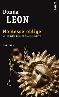 Noblesse oblige : roman