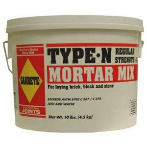 10LB Sakrete Mortar Mix (Mix Sakrete Sand)