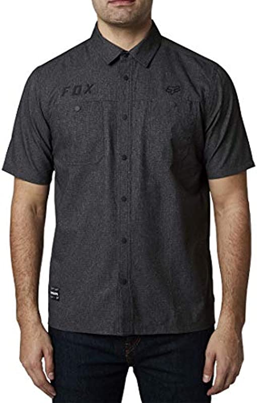 Fox Racing Męskie Starter Work Shirts: Sport & Freizeit