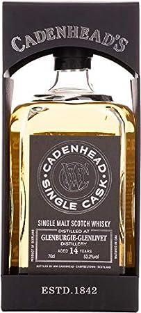 Cadenhead's Cadenhead's GLENBURGIE-GLENLIVET 14 Years Old SINGLE CASK Single Malt Scotch Whisky 53,2% Vol. 0,7l in Giftbox - 700 ml