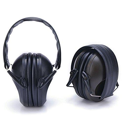 Jiayuane プロフェッショナルな聴覚保護用安全イヤーマフ丈夫で快適な耳保護は、大人に子供にフィット B079GQ298S