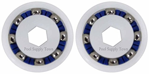 - PoolSupplyTown 2 Pack Wheel Ball Bearing Replacement for Polaris 360, 380, 3900 Sport, ATV Pool Cleaners Part No. 9-100-1108
