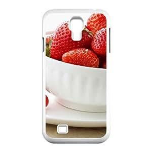 3D Okaycosama Funny Samsung Galaxy S4 Case Fruit 51 for Guys, Cell Phone Case for Samsung Galaxy S4, [White]