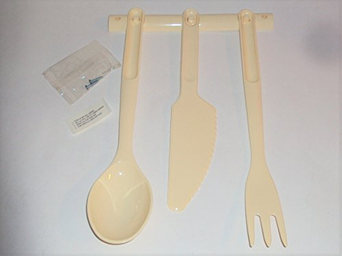 tupperware spoon and fork - 2