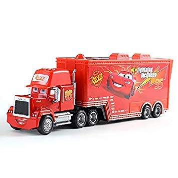 Pixar Car 2 3 Toys Truck Family Mac Uncle Truck 1 55 Injection Car Model Car Toy Birthday Christmas Gift 2