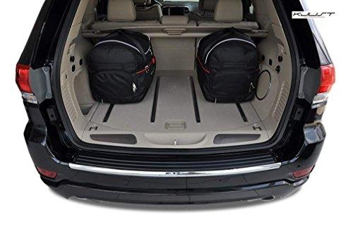 AUTO-TASCHEN MASSTASCHEN ROLLENTASCHEN JEEP GRAND CHEROKEE, IV, 2010- CAR BAGS - KJUST