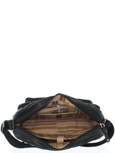 Arthur & aston - Besace Arthur et Aston en cuir vachette ref_ast35168-d-noir