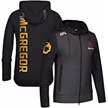Conor McGregor UFC Reebok Black Fight Kit Limited Edition Champion Walkout Hoodie For Men