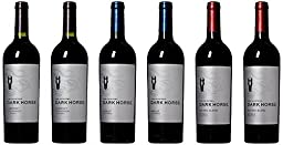 Dark Horse California Red Wine Mixed Pack, 6 x 750 mL