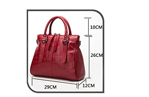 Sac Sauvage Fashion Bleu Lady Red GWQGZ À Main À Sac Bandoulière EFp6qncy