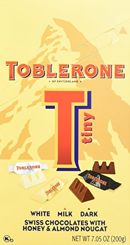 Toblerone Variety White Chocolate Ounce product image