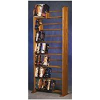 7 Row Dowel Media Rack (Dark)