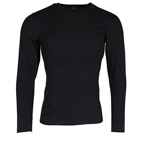 (Hanes Men's Crew Neck Long Sleeve Thermal Shirts (2 Pack), Medium,)