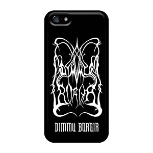 Durable Cell-phone Hard Cover For Iphone 5/5s With Unique Design High-definition Dimmu Borgir Band Skin JonBradica