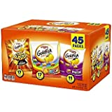 Pepperidge Farm, Goldfish, Crackers, 44.9 oz, Variety Pack, Box, Snack Packs, Pack Of 45 (Variety Pack 45 ct, 44.9 Ounce)