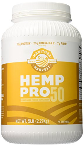 Manitoba Harvest Hemp Pro 50 Protein Supplement, 5 Pound
