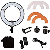 Mettle 12 inch 180 LED Ring Light Camera Phone Beauty Self-timer Lamp Lights 42W