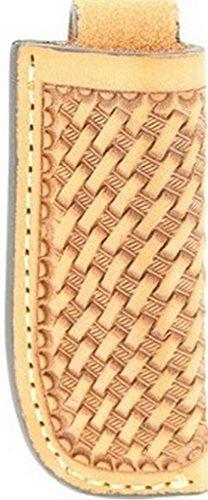 (Nocona Unisex Basketweave Knife Sheath Natural One Size)