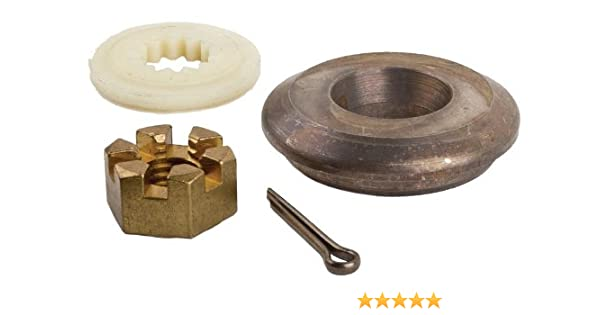 SEI MARINE PRODUCTS-Compatible with Evinrude Johnson OMC Cobra Prop Nut Kit  5005034 40 48 50 55 60 70 75 HP 2 Stroke
