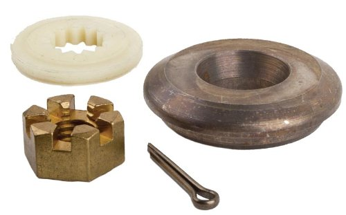 SEI MARINE PRODUCTS-Compatible with Evinrude Johnson OMC Cobra Prop Nut Kit 5005034 40 48 50 55 60 70 75 HP 2 - Nut Omc