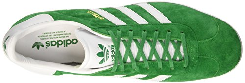 Top Unisex Gazelle Erwachsene Metallic adidas White Grün Green Low Gold wIqdxEA