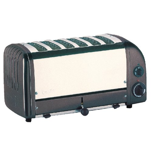 Dualit Vario 6 Slot Toaster Black Standard Finish. Electrical Plug Not Included.