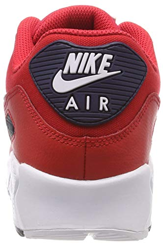 90 's Low Sneakers 12 Top 12 NIKE Max UK Red Men Essential Air UK pBfYIq