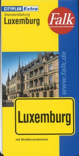 Falk Cityplan Extra Standardfaltung International Luxemburg mit Straßenverzeichnis