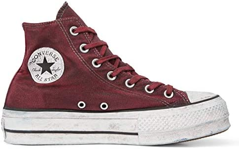 Converse CTAS Hi Lift Canvas Ltd Gray: : Chaussures