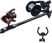 Fishing Line Spooler - Portable Fishing Reel Line Winder Spooling Station System Baitcaster Line Spooler Machi