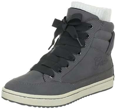 Geox Jr Silent J2459N00032C9002 - Botas de cuero para niña, color gris, talla 31