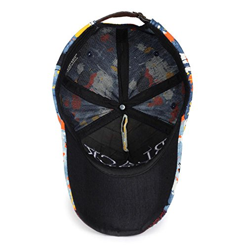AxiEr Snapback Unisex Hat Hip Hop Plaid Flat Brim Adjustable Baseball Cap