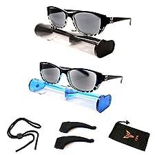 9a87b23f092d Sale! Oval Rectangular Shape SUN READER Reading Glasses   Sunglasses for Men    Women ...