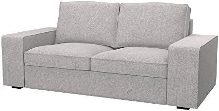 Soferia - IKEA KIVIK Funda para sofá de 2 plazas, Naturel ...