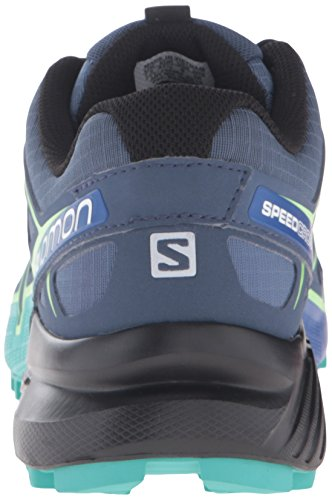 Salomon Womens Speedcross 4 W Trail Runner Slate Blue/Spa Blue/Fresh Green eSnKzOVh5c