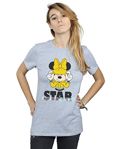 Mickey Fit Mouse T Are shirt Star Gris Sport You Disney Ami Femme Petit R5q844