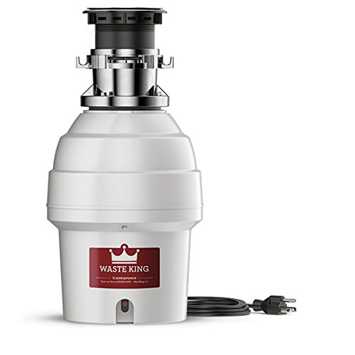 Waste King L-5000TC Legend Series 3/4 HP Batch Feed Operation Garbage Disposer by Waste King B00146GKIU