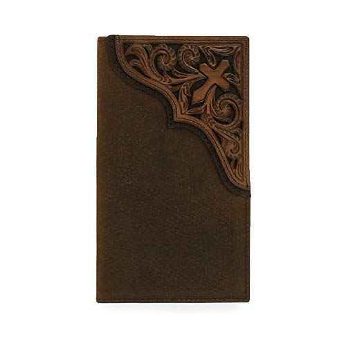 Ariat Men's Blessed Rodeo Wallet Medium Distressed Brown Size One Size