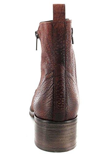 check out d24a8 4b83b SALE FIDJI Damen Stiefeletten Braun Schuhe in Übergrößen