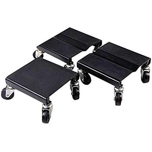 (Allbest2you 3PCs Snowmobile Roller Dolly Set Storage Kit Snow Dollies Mover 1500 LBS)