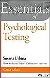 Essentials of Psychological Testing (Essentials of Behavioral Science)