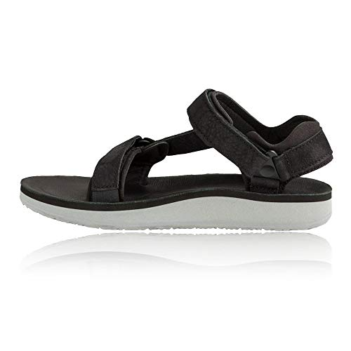 Leather Outdoor Original Sandal Universal And Sports Premier Black Women's Teva Lifestyle ZT6qxan