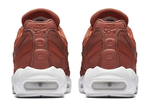 Nike Air Max 95 Premium SE Mens Running Trainers 924478 Sneakers Shoes (UK 9 US 10 EU 44, Dusty Peach White 200) by Nike (Image #3)