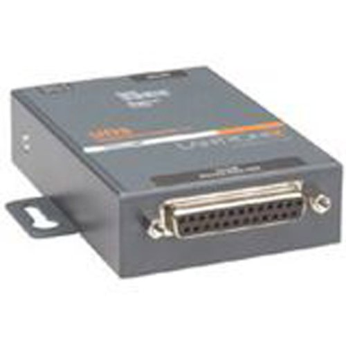 Lantronix UD1100001-01 UDS1100 - One Port Serial (RS232/ RS422/ RS485) to IP Ethernet Device Server - UL864, US Domestic 110VAC - Convert from RS-232, RS-485 to Ethernet using Serial over IP technolog by Lantronix, Inc