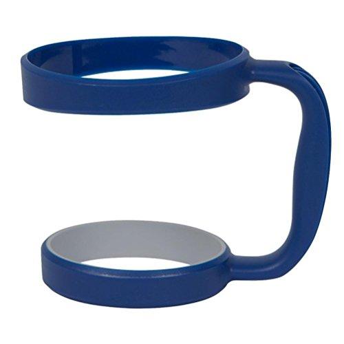 Mug Handle, PHOTNO Handle For YETI Rambler 30 oz Tumblers Slip Handle Yeti Cup (Dark Blue)