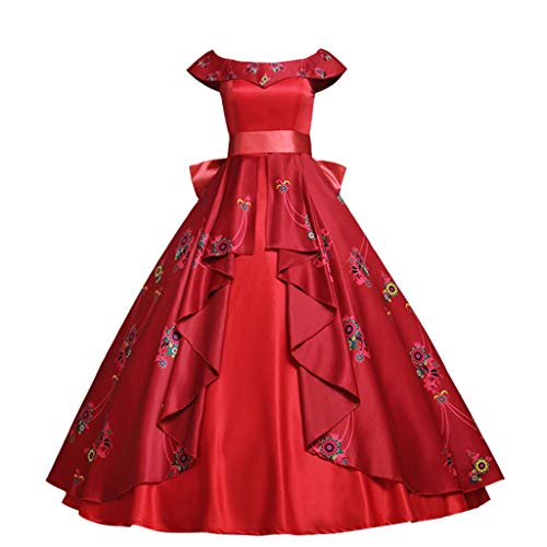 CosplayDiy Women's Dress for Elena of Avalor Princess Elena Cosplay Adult XXL]()